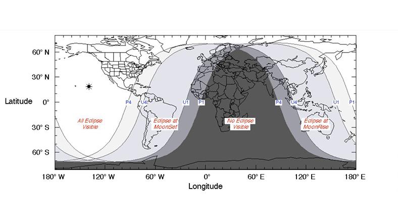 19 Kasım 2021 parça Ay tutulması programı