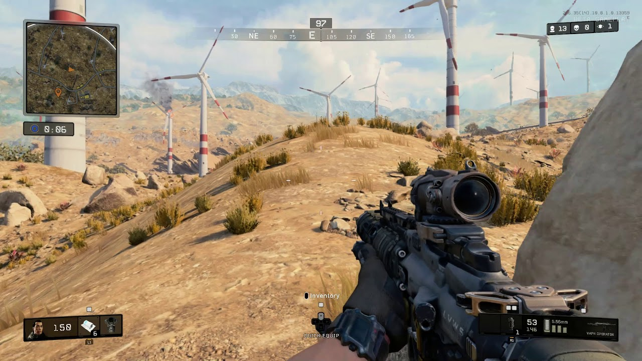 Call of Duty Black Ops 4's Blackout