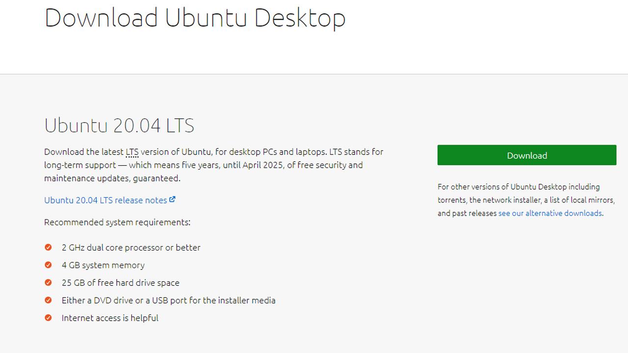 USB bellek ile Linux (Ubuntu) kurulumu