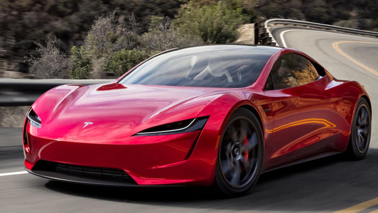 Tesla Roadster dış tasarım