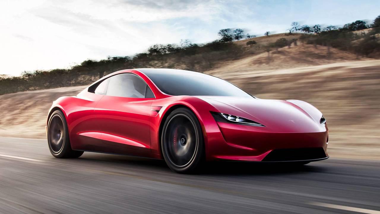 Tesla Roadster performans