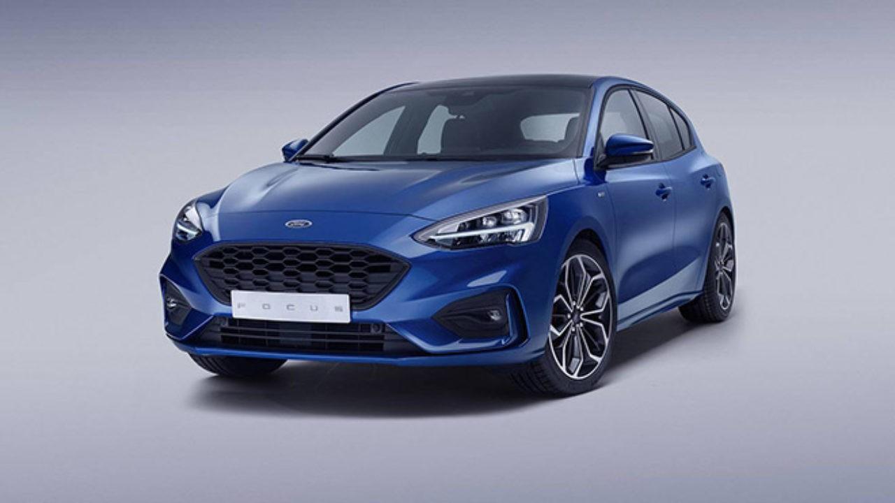 Ford focus 2020 mavi