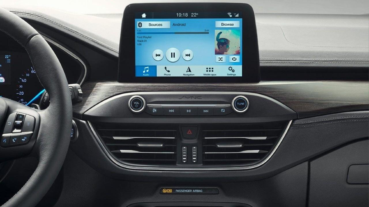 Ford focus 2020 multimedya ekranı