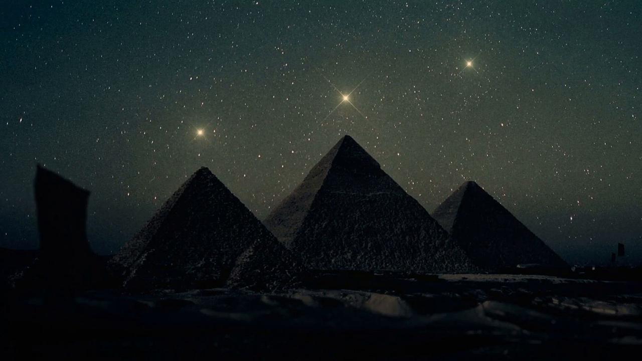 Giza Orion bürcünün piramidaları