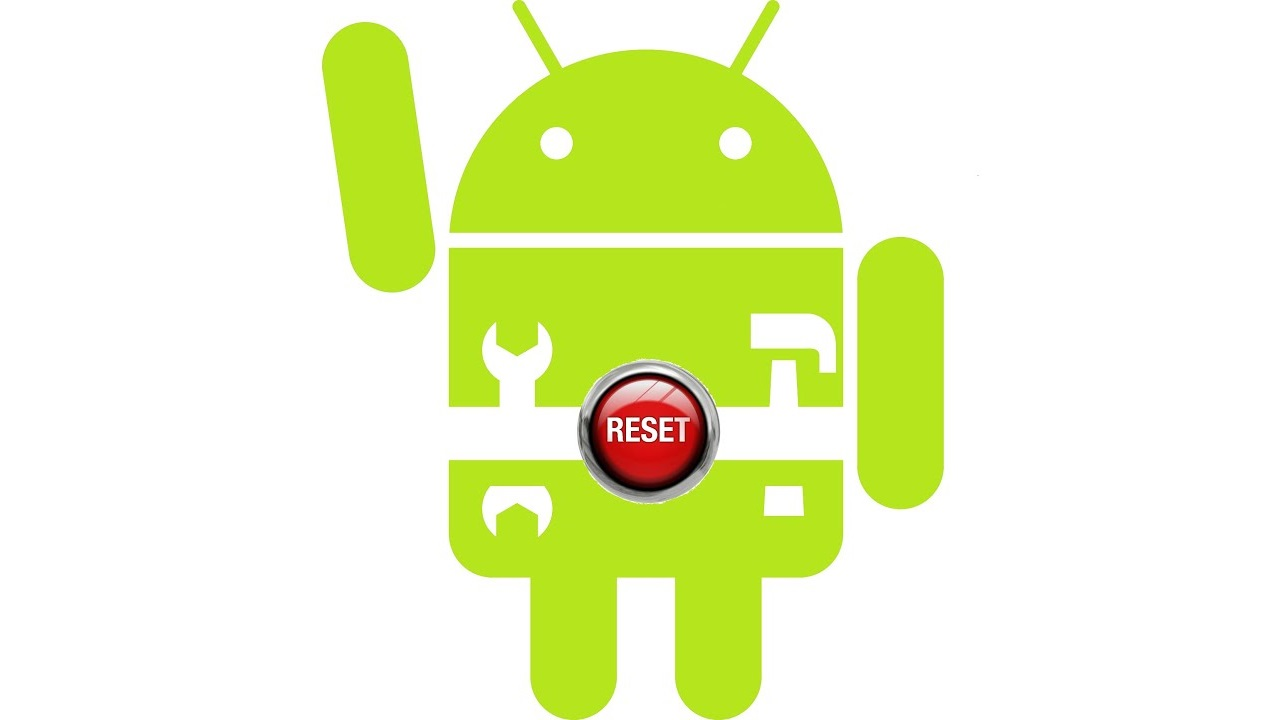 android, reset