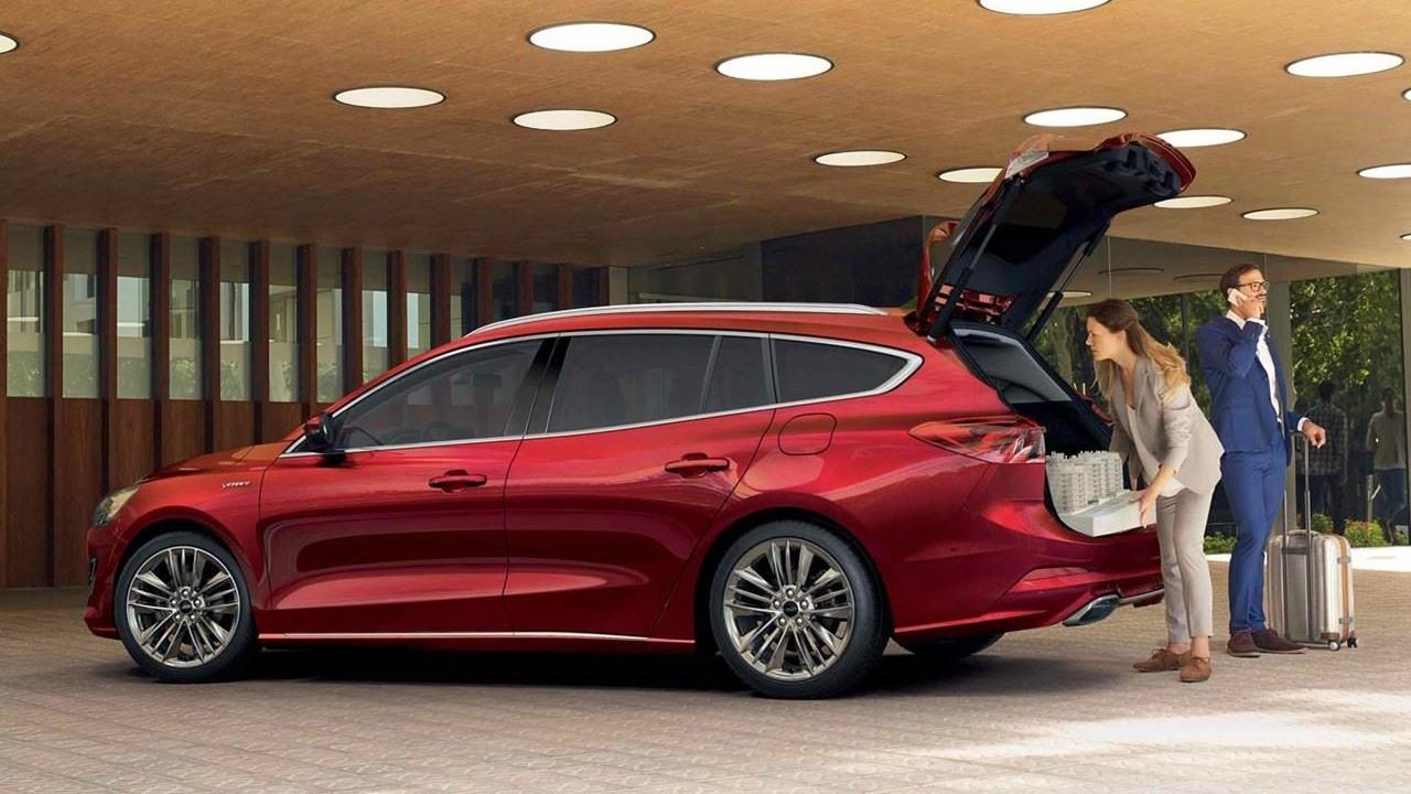 Ford focus 2020 akıllı bagaj