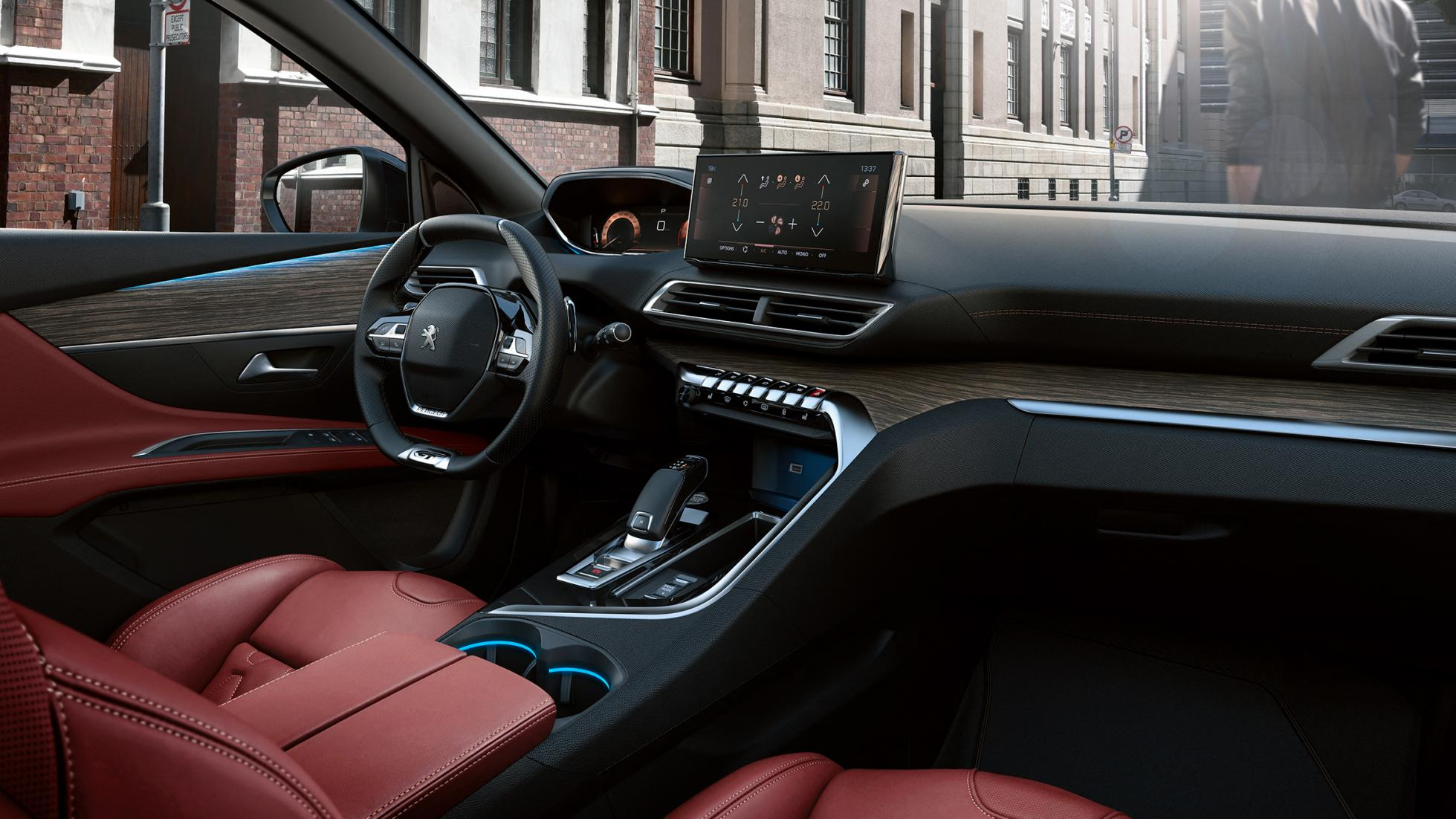2021 Peugeot 3008 iç mekan