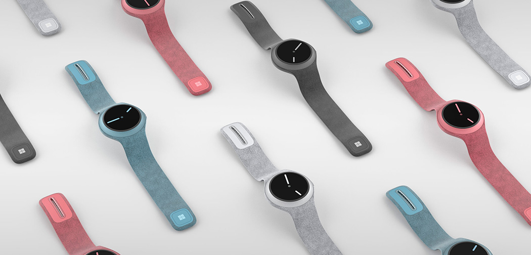 Microsoft Surface Watch tüm renkler