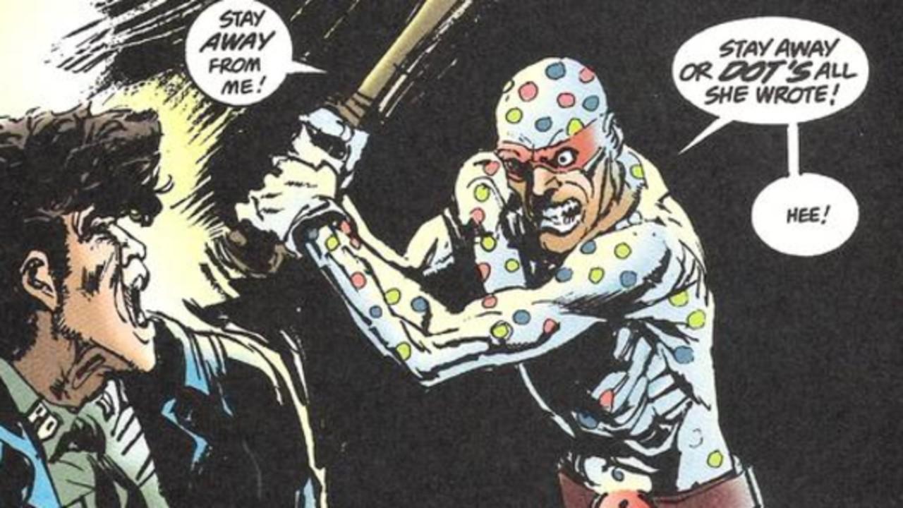 polka dot man suicide squad dc comics çizgi roman