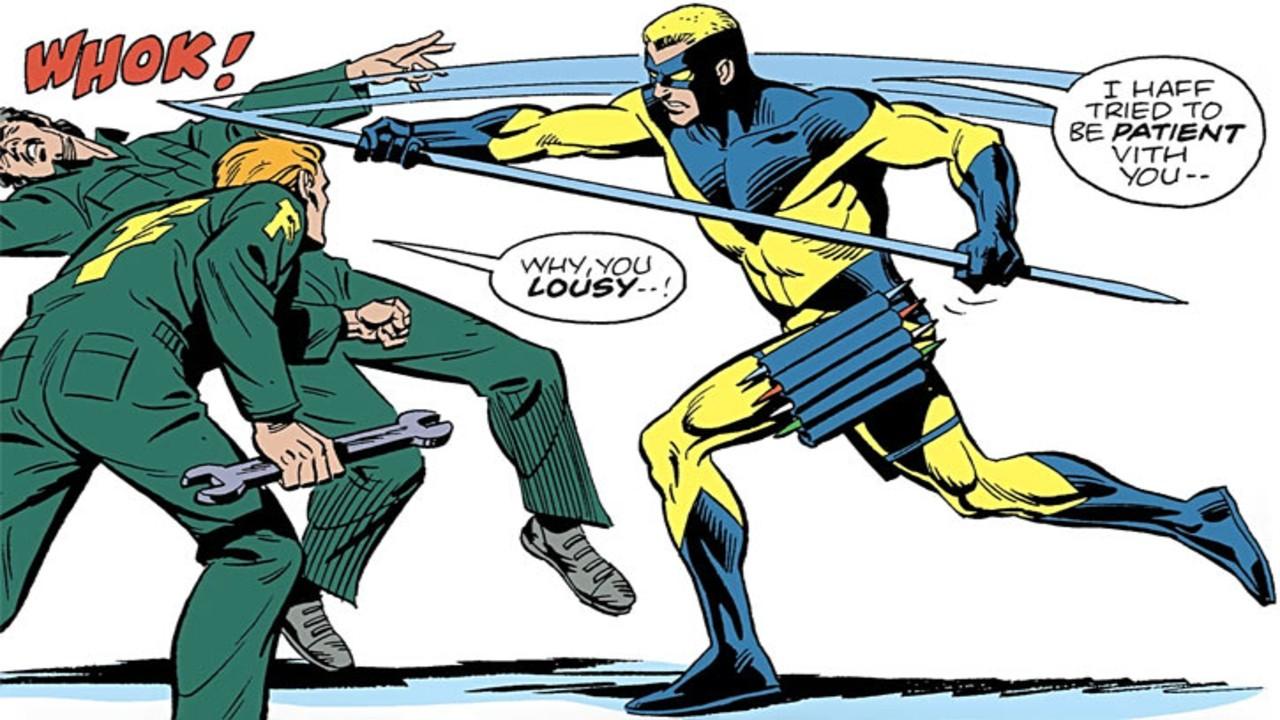 javelin suicide squad dc comics çizgi roman