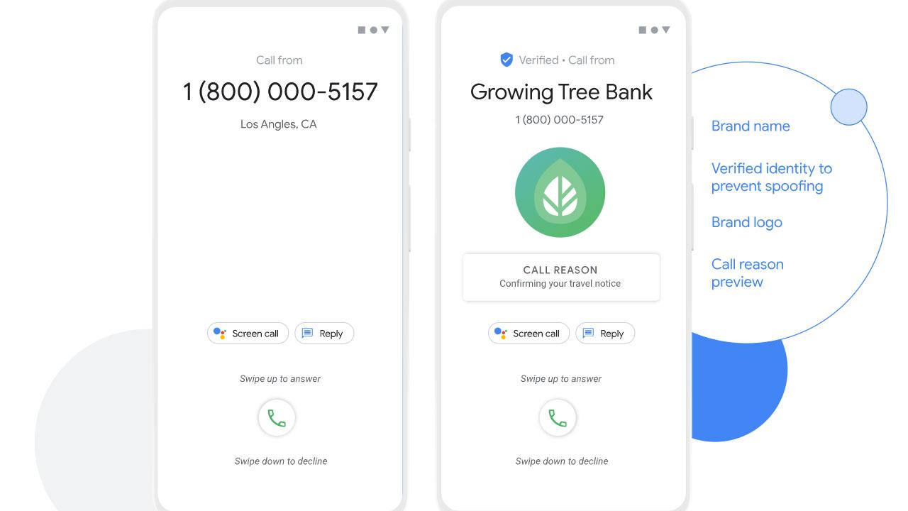 google telefon doğrulanmış arama