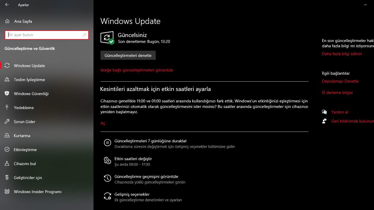 windows 7 güvenlik