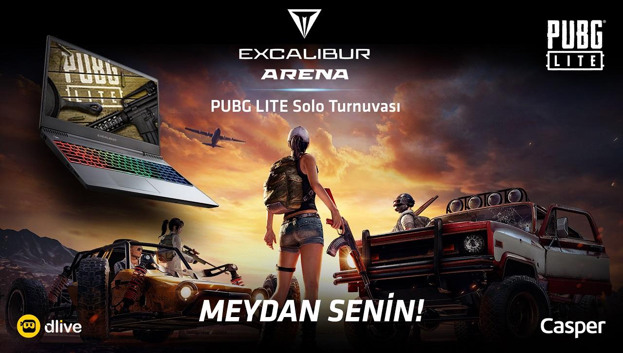 Excalibur Arena PUBG Lite Turnuvası