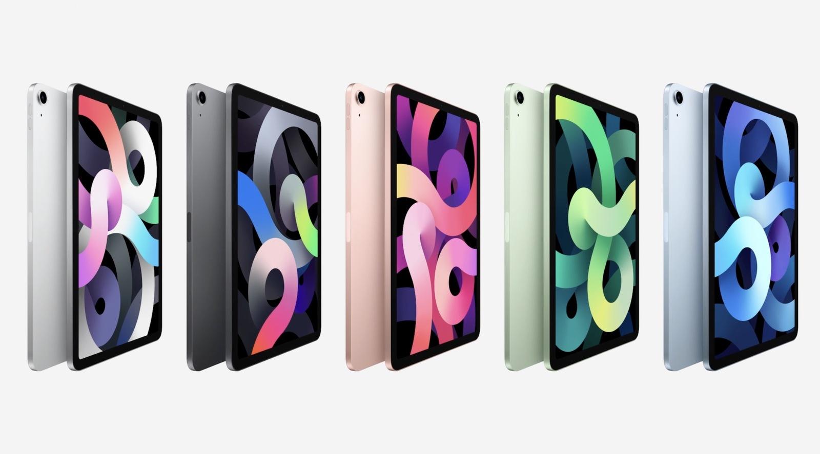 ipad air 4 renk seçenekleri