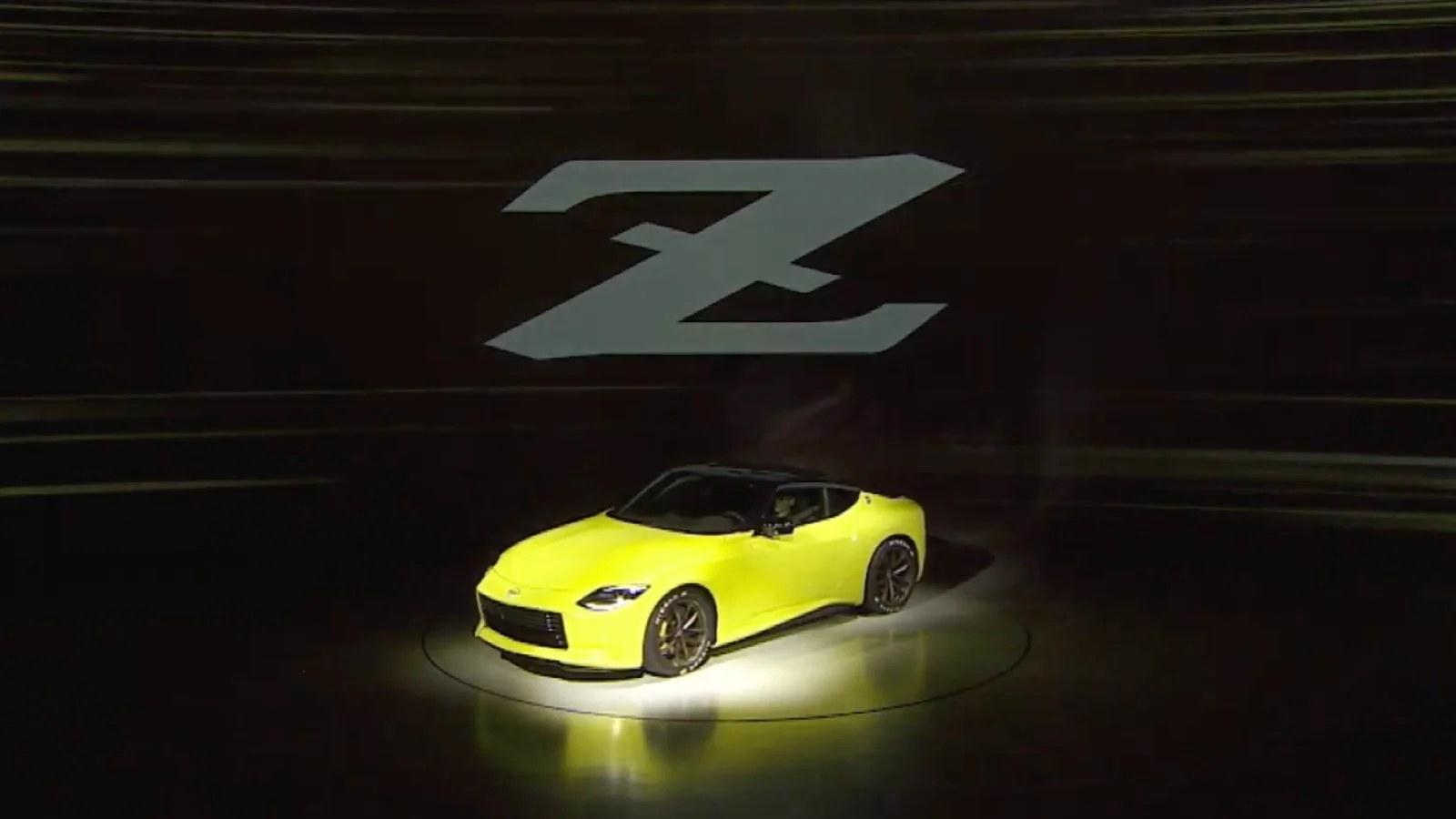 Nissan Z Proto lansman