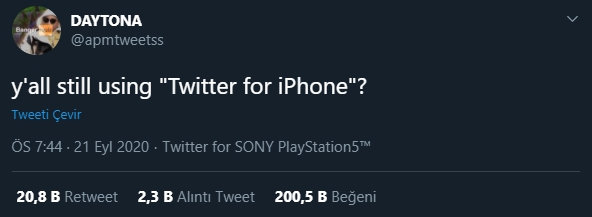 twitter for playstation 5