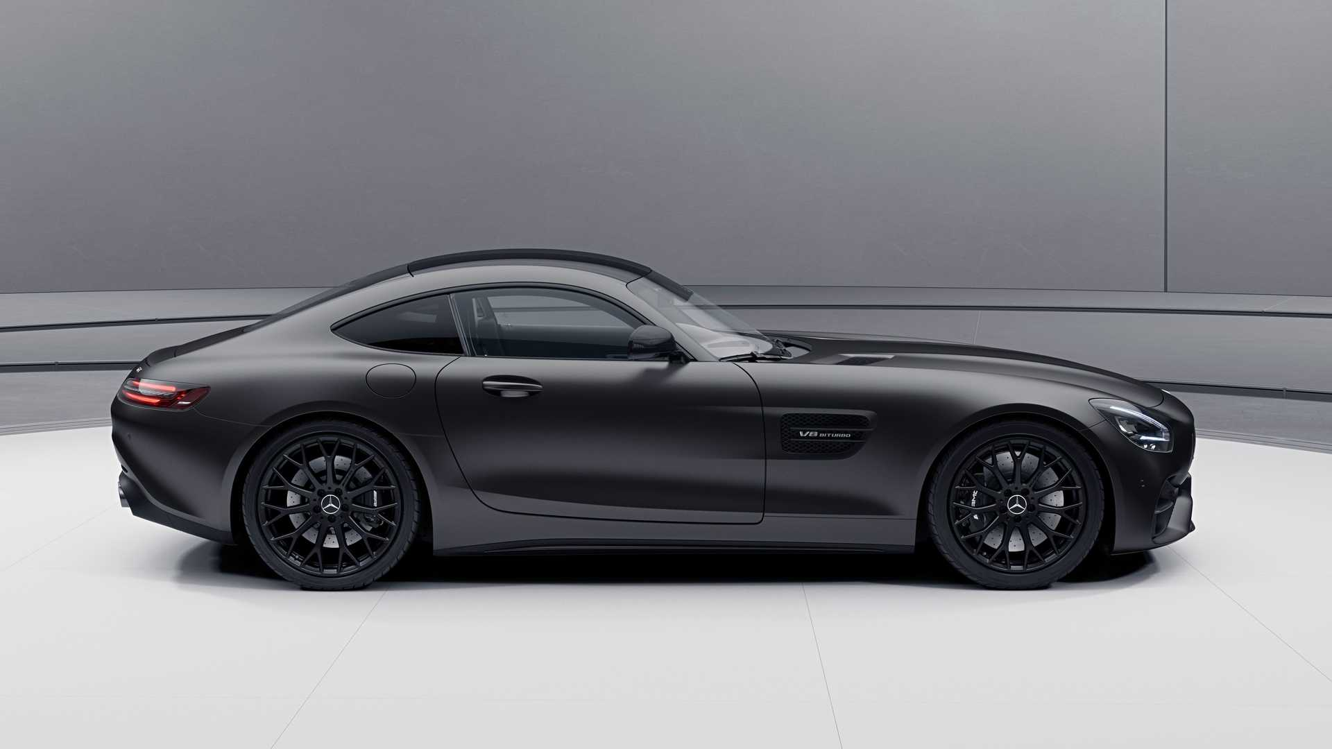 Mercedes-AMG GT Coupe yan