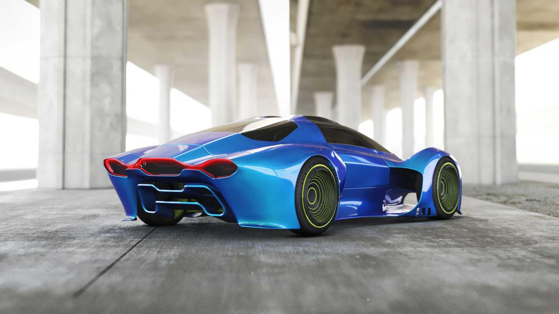 Porsche 411 tasarımı arka