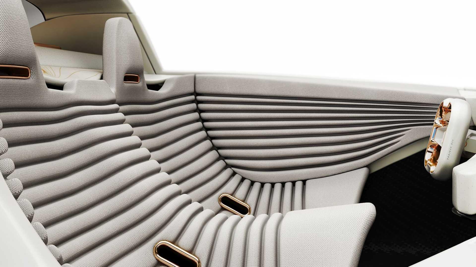 Porsche 411 tasarımı içi