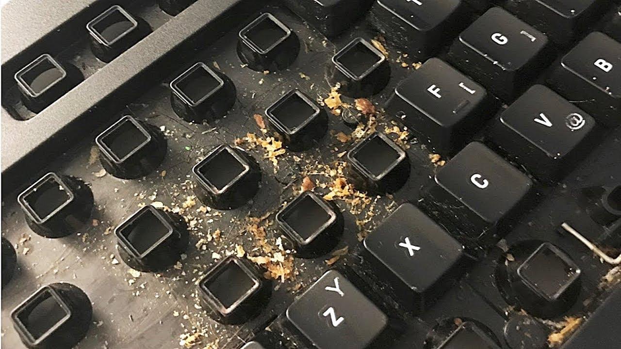 pc temizleme, klavye temizleme