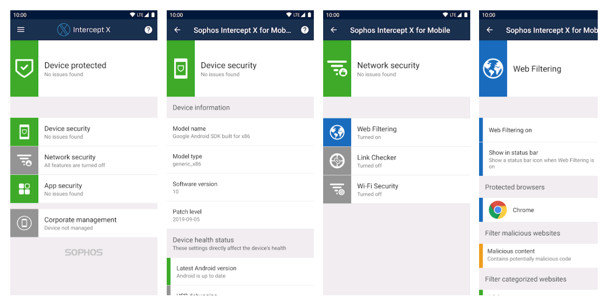 malware temizleme, sophos intercept x for mobile