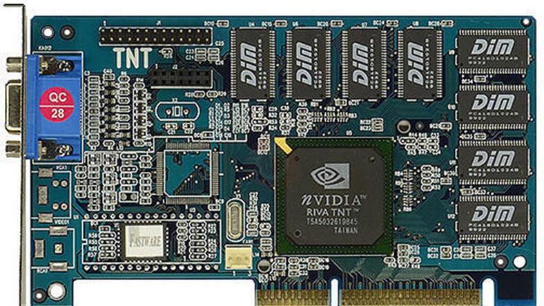 nvidia riva tnt ekran kartı