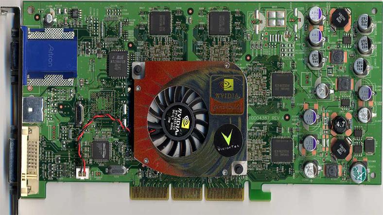 nvidia geforce 4 ti 4600 ekran kartı