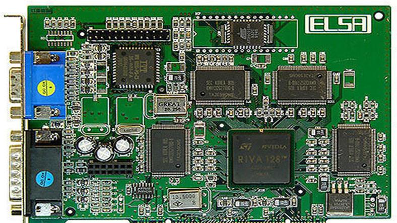 nvidia riva 128 ekran kartı