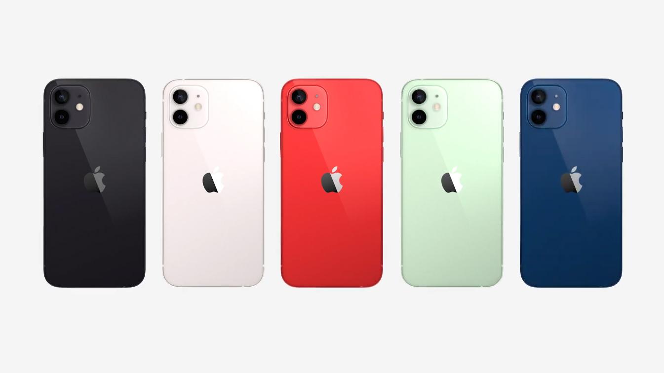 iphone 12 renkleri