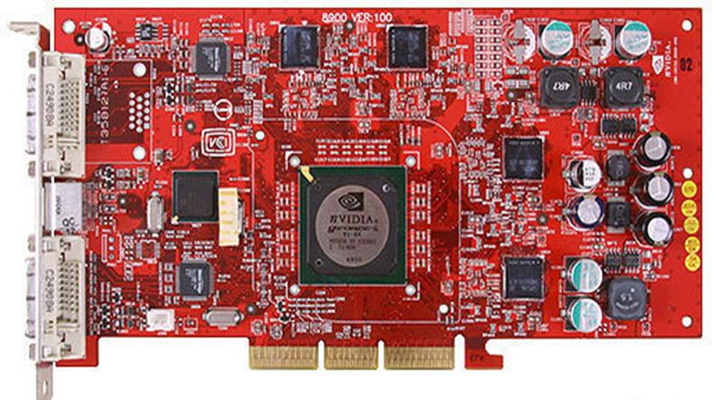 nvidia geforce 4 ti 4800 ekran kartı