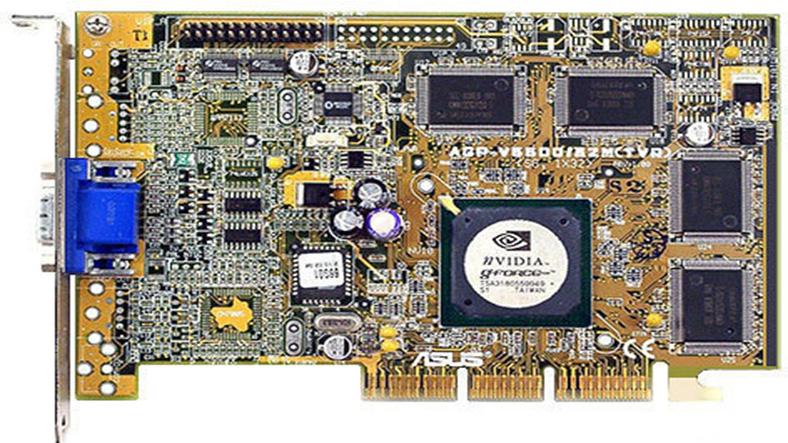 nvidia geforce 256 ekran kartı