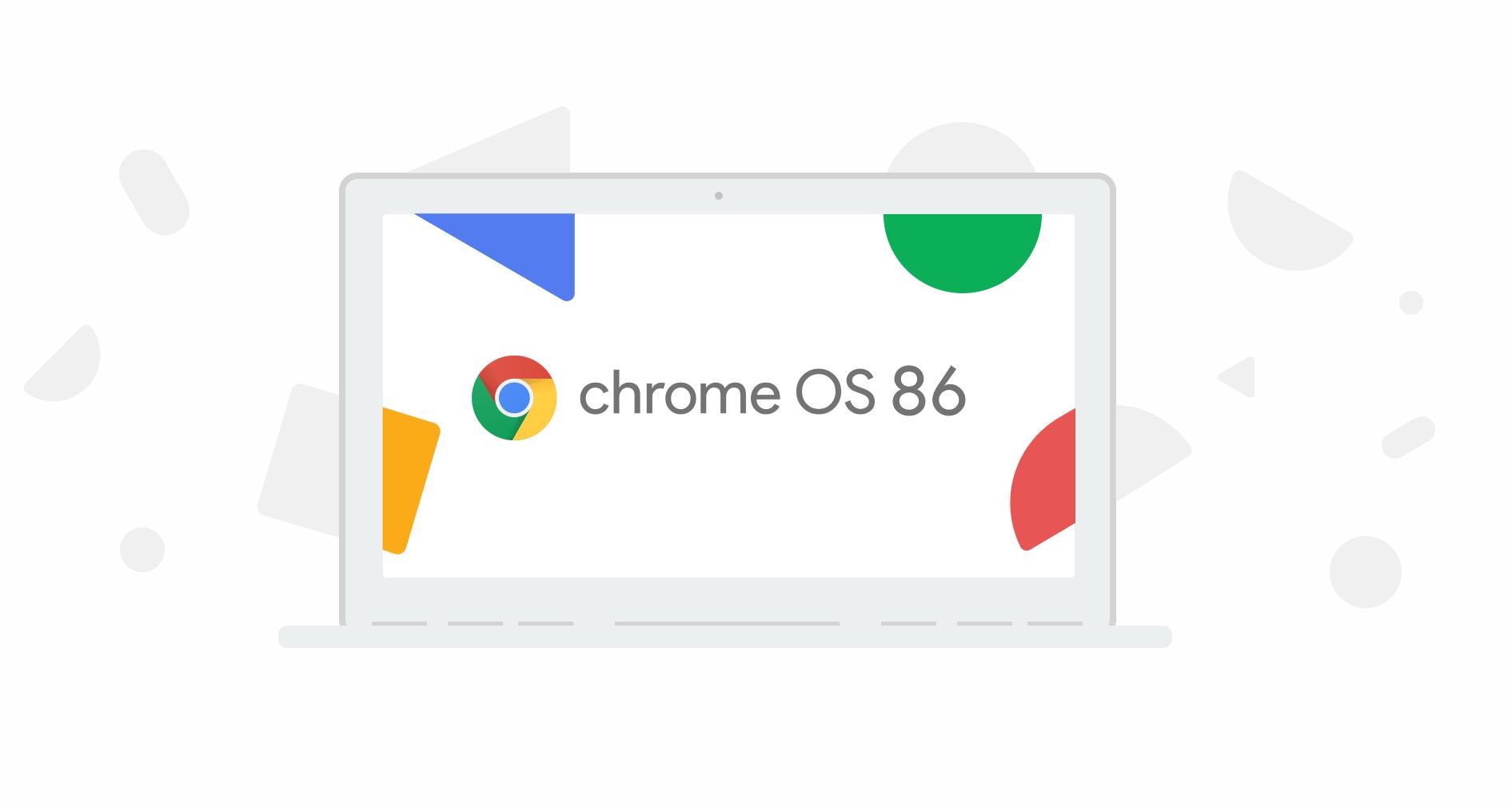 ChromeOS 86