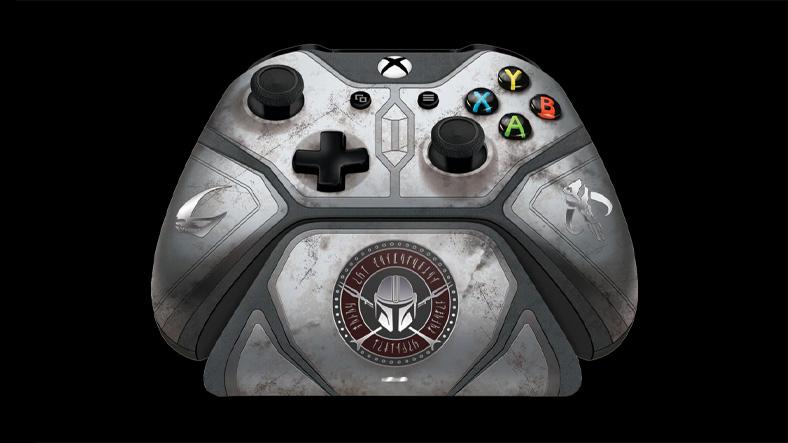 xbox the mandalorian temalı kontrolcü