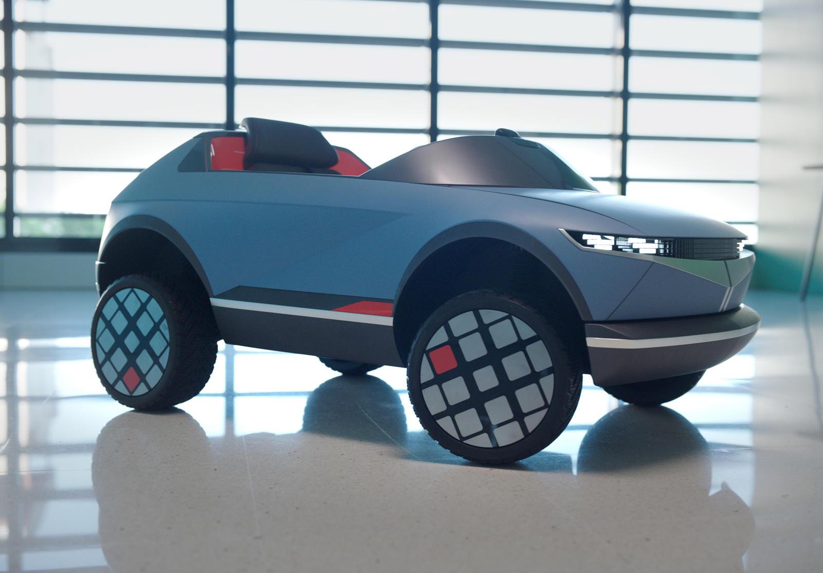hyundai mini elektrikli otomobil