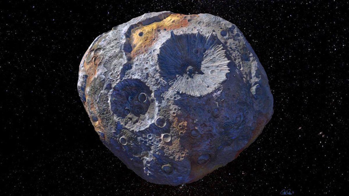 asteroit, uzay, psyche asteroidi