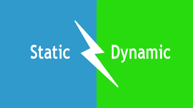 What is static ip, dynamic ip