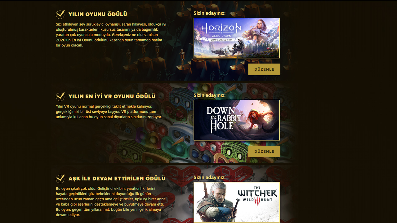 Steam Ödülleri