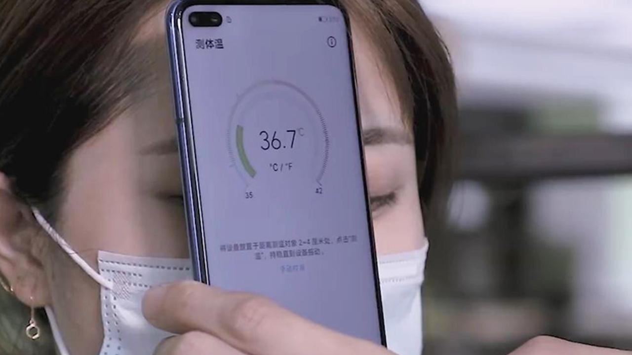 Huawei, Akıllı Telefonlar İçin Ateş Ölçüm Patenti Aldı