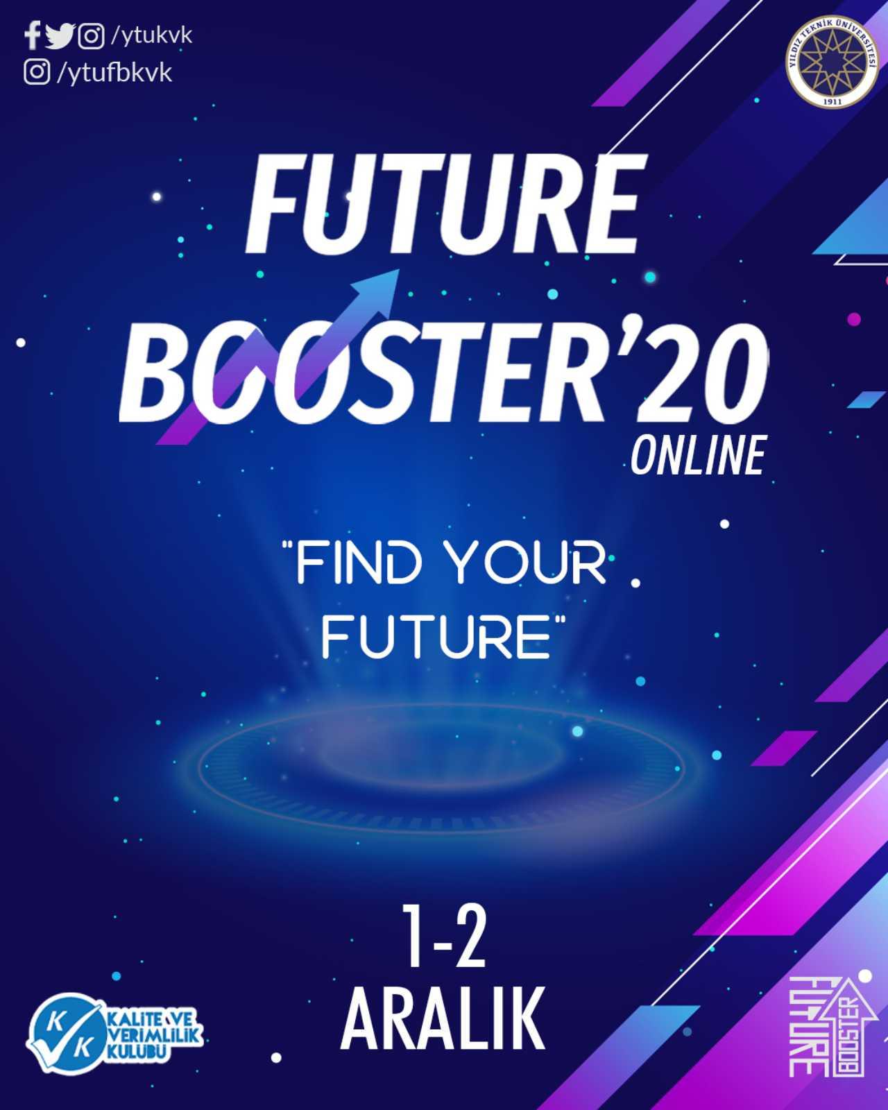 Future Booster'20, 1-2 Aralık'ta Gerçekleştirilecek