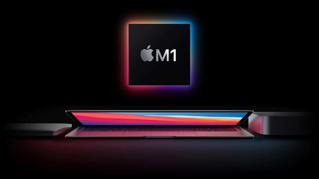 apple m1 yonga, apple m1 çekirdek