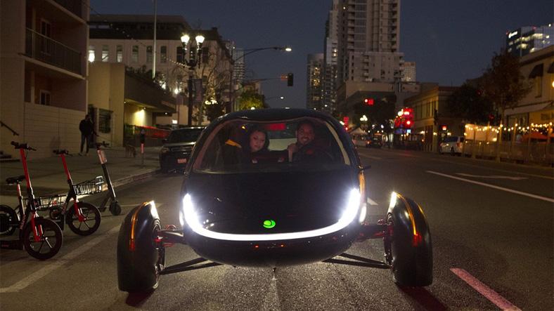 aperta sev, güneş enerjili araba