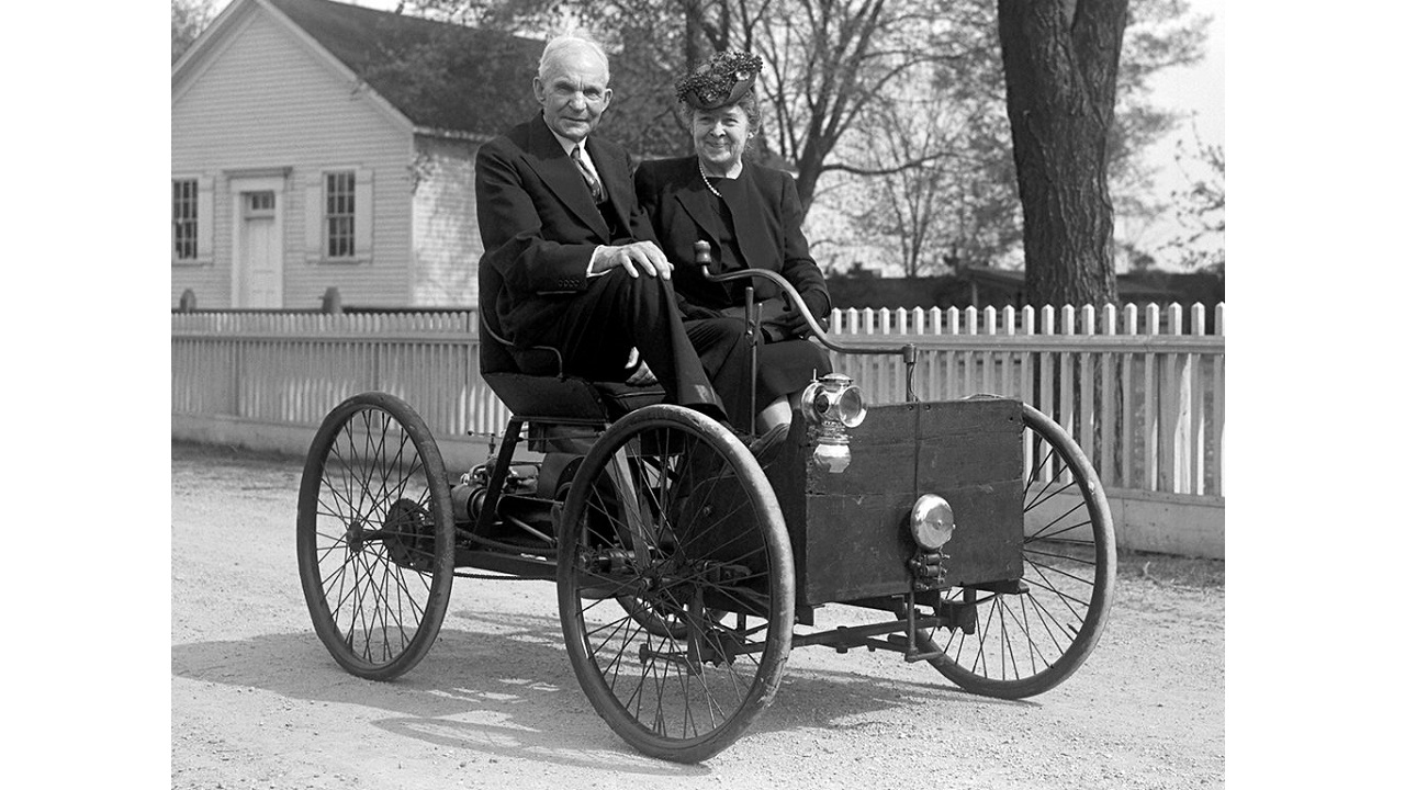 Henry Ford, Quadricycle