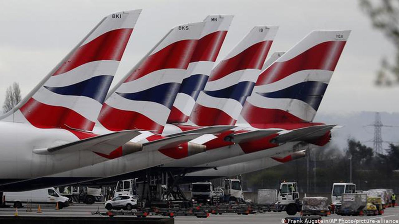 İngiltere'ye uçuş yasakları