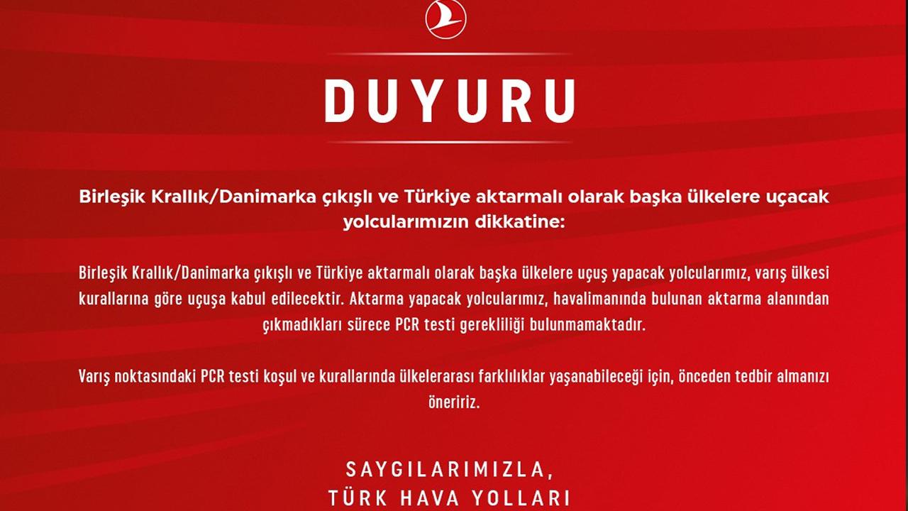 İngiltere 'den Türkiye'ye Özel İzinli Uçuşlar Başladı