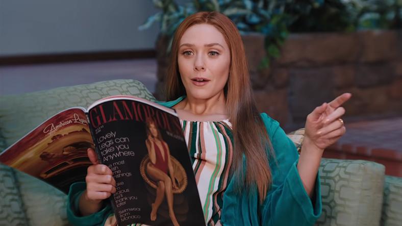 wanda dergi okuyor