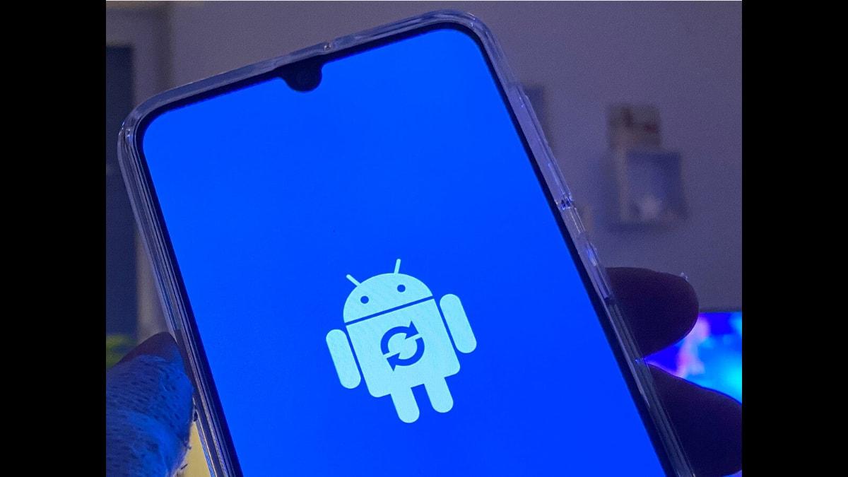 android güncelleme ekranı