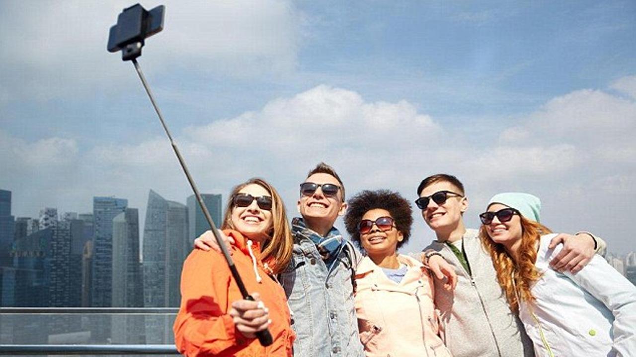 bluetooth selfie çubuğu