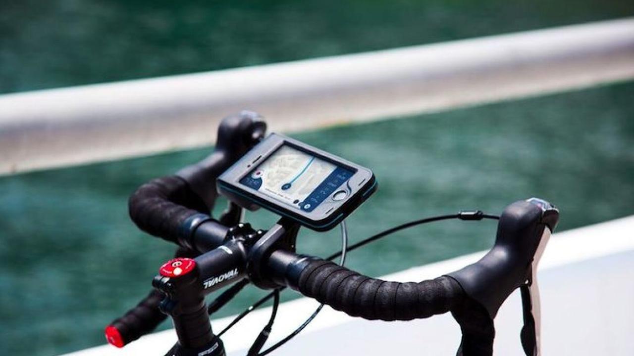 bisiklet telefon tutucu
