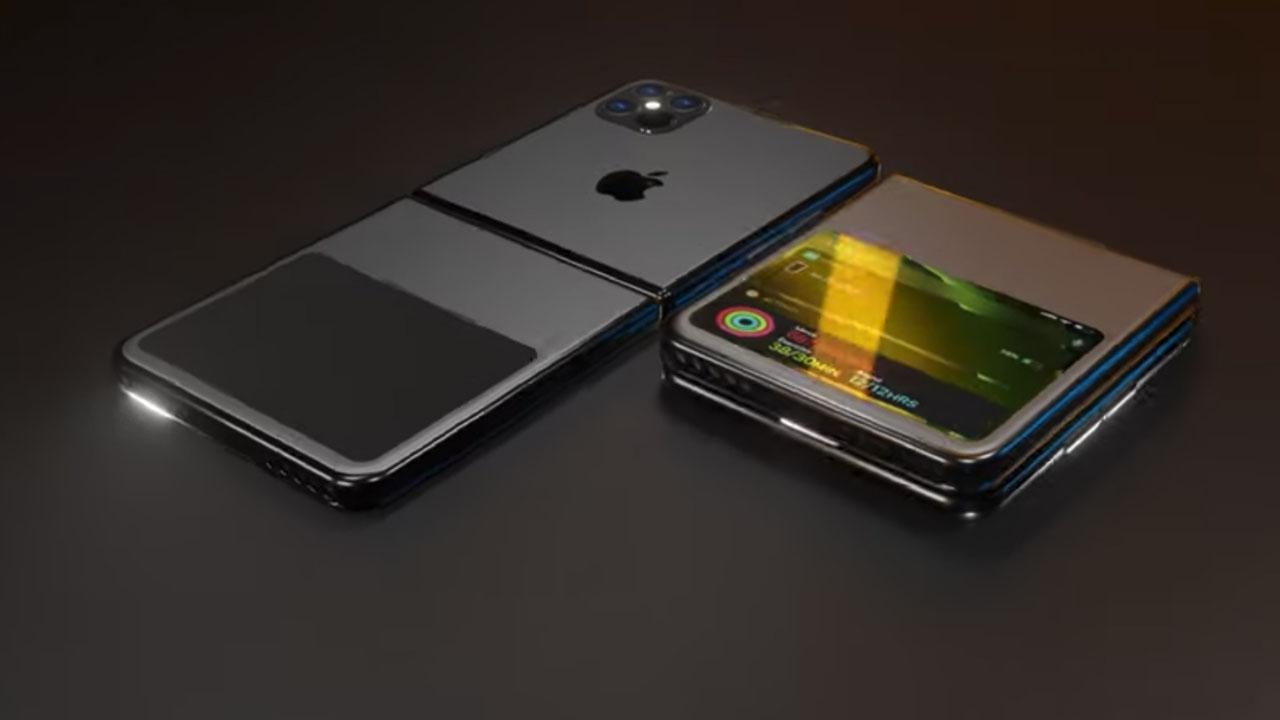 Katlanabilir ekranlı iPhone