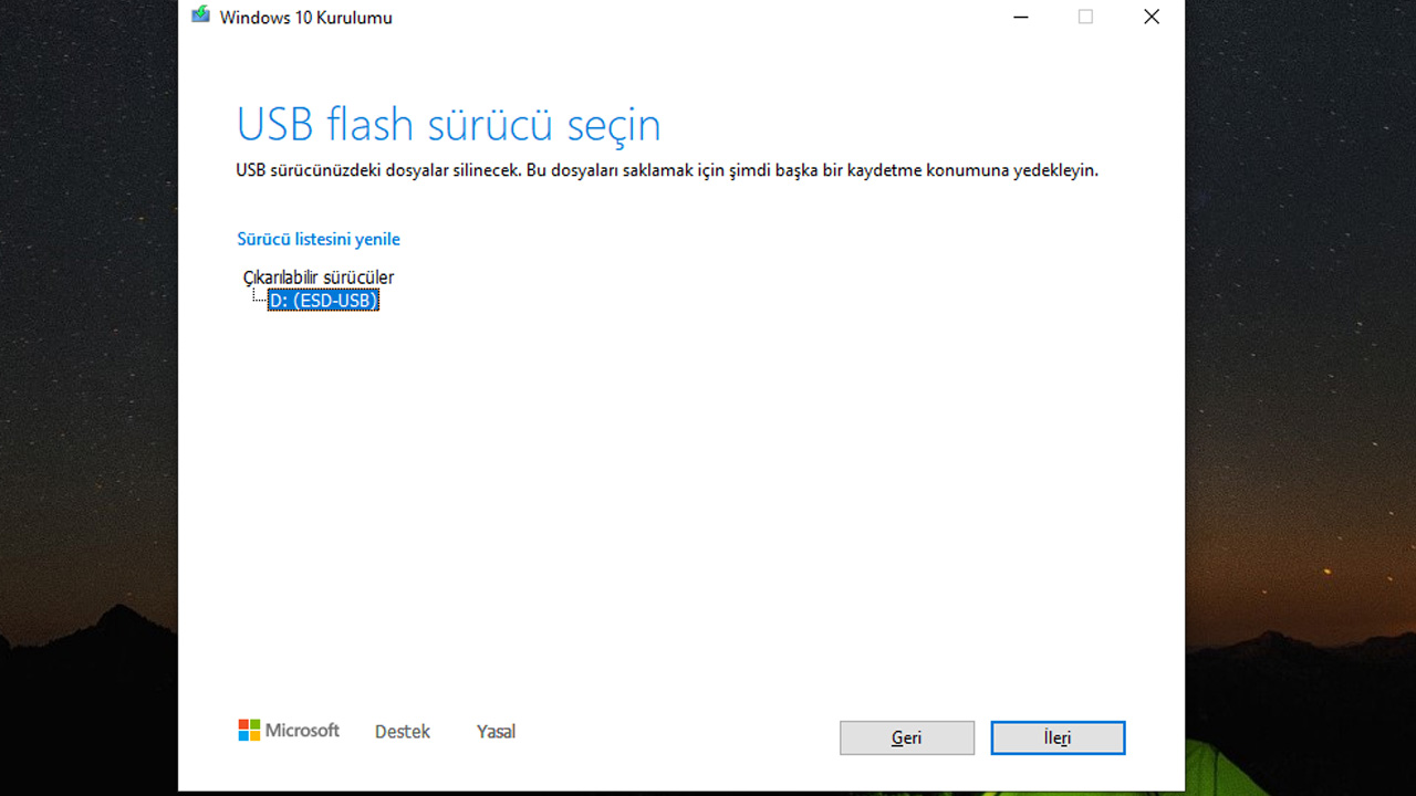 windows format usb